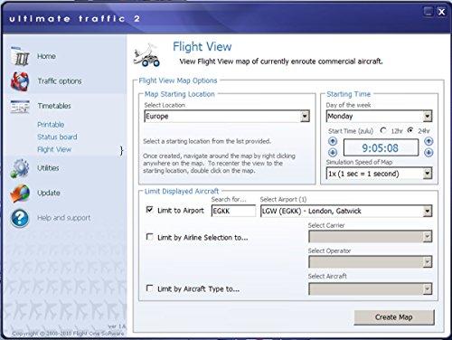 Flight Simulator X - Ultimate Traffic 2-2016 (Add-On) - Flug